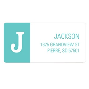 B is for Baby Boy -- Baby Address Labels
