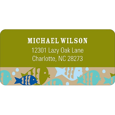 It's a Keeper -- Address Label