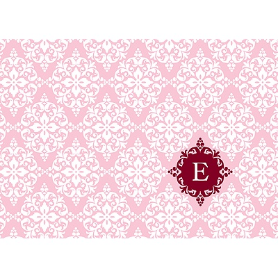 Born in Elegance in Pink -- Thank You Card