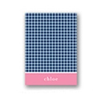 Criss Cross Love in Blue -- Thank You Card