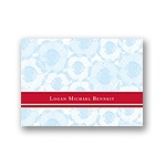Welcoming Blooms in Blue -- Thank You Card