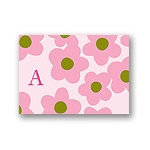 Playful Petals -- Baby Thank You Card