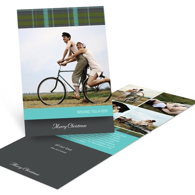Dreaming of A Plaid Christmas -- Holiday Photo Cards