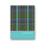 Dreaming of a Plaid Christmas -- Christmas Stationery