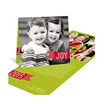Holiday Joy -- Photo Christmas Cards