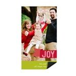 Holiday Joy -- Photo Magnet Christmas Cards