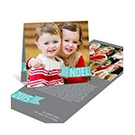 Noel Greeting Tag -- Photo Christmas Cards