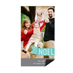 Noel Greeting Tag -- Photo Magnet Christmas Cards