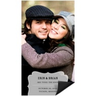 Shapely Frame Save the Date Magnet