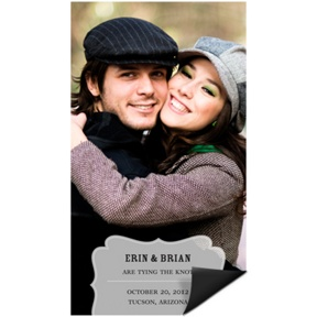 Shapely Frame -- Save the Date Magnet