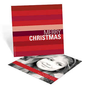 Shades of Stripes -- Christmas Cards