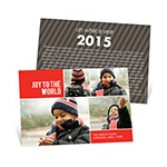 Bringing Joy to the World -- Collage Christmas Card