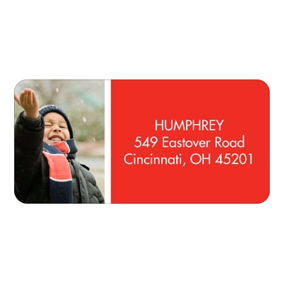 Simply Merry Christmas Address Labels