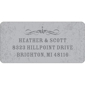 Spooky Tombstone -- Halloween Address Label