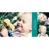 Horizontal Photo Collage - Holiday Photo Cards