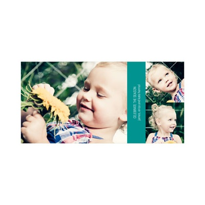 Horizontal Photo Collage - Photo Christmas Cards