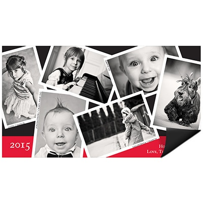 Snapshots Magnet Photo Christmas Cards