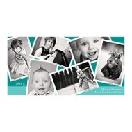 Photo Paper Snapshots Christmas Cards