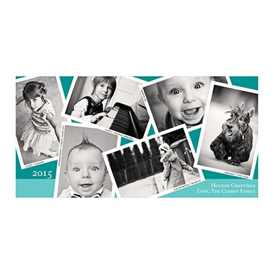 Photo Paper Snapshots Holiday Photo Cards