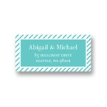 Save the Stripes -- Save the Date Address Labels