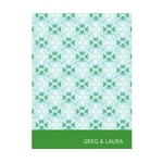 Classically Patterned -- Christmas Stationery