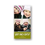 Ho Ho Ho! -- Photo Christmas Card