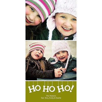 Ho Ho Ho! -- Holiday Photo Cards