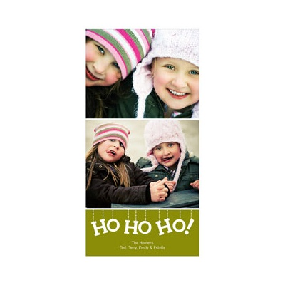 Ho Ho Ho! -- Photo Christmas Cards