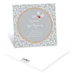 Holly Flurry -- Holiday Party Invitations