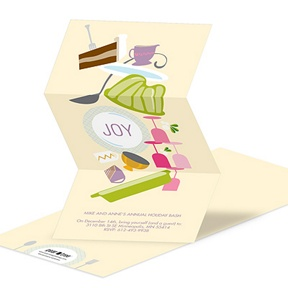 Icons of Joy -- Holiday Party Invitations