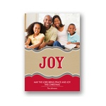 Radiant Joy -- Photo Christmas Card