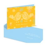 Love Birds -- Christmas Card