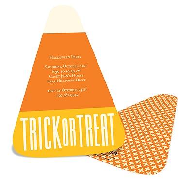 Sweet Treat Halloween Party Invitation