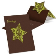 Damask Star Greeting