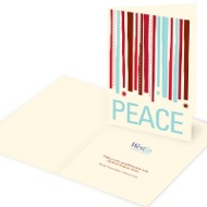 Peace Flows Down Business Holiday Cards