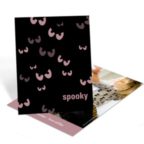 Spooky Eyes -- Halloween Photo Card