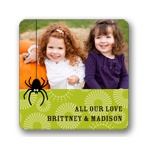 Dangling Spider -- Personalized Stickers