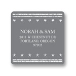 Star the Date -- Save the Date Address Labels