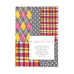 Pattern Patchwork -- Sweet 16 Invitations