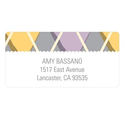 Argyle Attributes Creative Address Labels