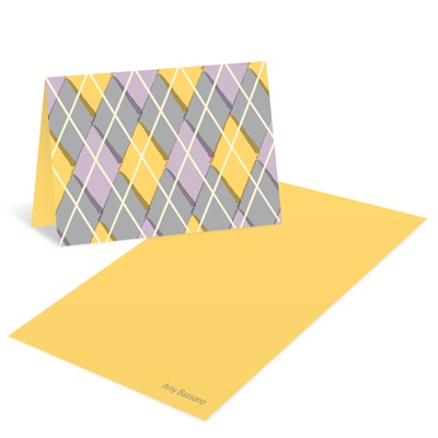 Argyle Attributes -- Sweet 16 Thank You Cards