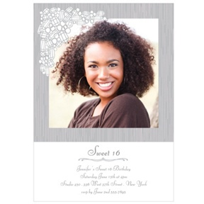 Girl's Best Friend -- Sweet 16 Photo Invitations