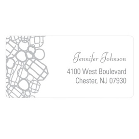 Flashy Diamonds -- Address Labels