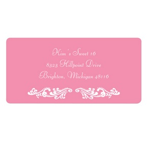Sweet and Chic -- Address Labels