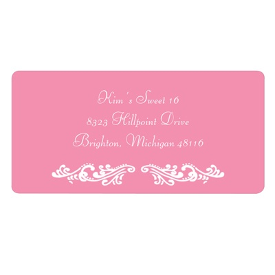 Sweet and Chic Address Labels