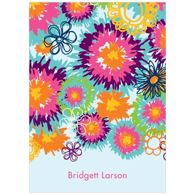 Flower Power Sweet 16 Thank You Cards