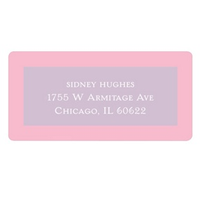 Fit for a Princess -- Kids Address Labels