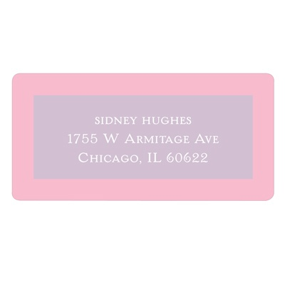 Fit for a Princess Kids Address Labels