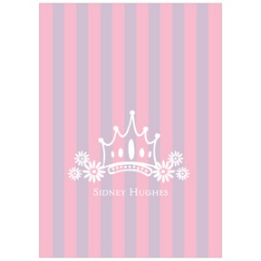 Fit for a Princess -- Kids Thank You Cards