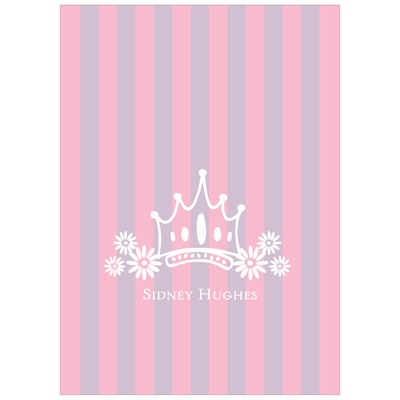 Fit for a Princess Kids Thank You Cards